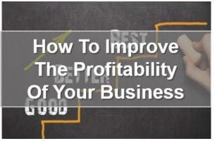 Improve Profitability - Accountants in Richmond