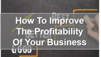 How to improve the profitability of your business