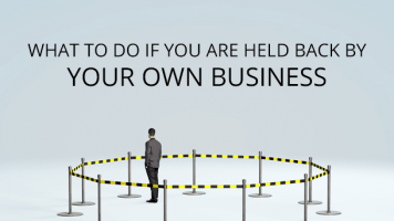 I can have the business I want – by stopping the business I've got