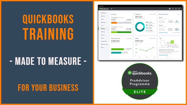 Quickbooks Training Richmond, Fulham, Kingston